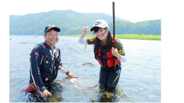 女性アユ釣り師養成講座モニター