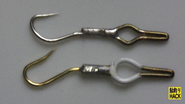 メガネ式サカサ針